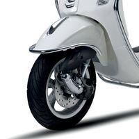 Original Vespa Stoßschutz Kotflügel verchromt für Primavera 1B000975