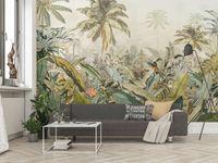 "Komar Vlies Fototapete ""Amazonia"", grün/braun, 368 x 248 cm"