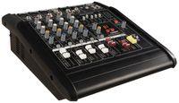 "5-Kanal 1500 Watt DJ Powermixer HOLLYWOOD ""PM-25"", DSP, schwarz"