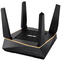 ASUS RT-AX92U AX6100 AiMesh Router (512 MB RAM, LAN:10/100/1000 MBit/s, schwarz)