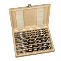 8 tlg Schlangenbohrer Spiralbohrer Set 23 cm Werkzeug