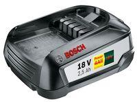 Bosch 18 V / 2,5 Ah Lithium-Ionen-Akku für Bosch 18-Volt-Gartengeräte