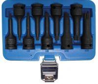 BGS 5482 Kraft-Biteinsatz-Set, Innenvielzahn M4-16, 12,5 (1/2), 9-tlg.