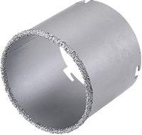 WOLFCRAFT Bohrkranz Hartmetall bestreut 55 x 43 mm