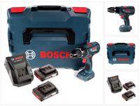 Bosch GSB 18 V-28 Professional 18 V Li-Ion Akku Schlagbohrschrauber in L-Boxx + 2 x 2,0 Ah Akku + Ladegerät ( 06019H4002 )