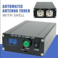 0,96 Zoll MINI automatischer Antennentuner 100W OLED ATU100 7x7automatisches Antennentuning fertiges Produkt mit Schale