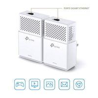 TP-Link TL-PA7010 KIT AV1000 Powerline 2er KIT (2x LAN)   Weiß   Plug&Play