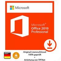 Microsoft® Office 2019 Professional 32 bit & 64 bit Vollversion Original Aktivierungsschlüssel per E-Mail + Anleitung von TPFNet®