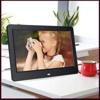 """10"""" TFT LED Digitaler Bilderrahmen 1024 x 600 Fotorahmen Musik Video Player + Fernbedienung 16MB ABS Mehrere Sprachen"""