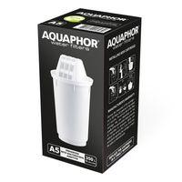AQUAPHOR Filterkartusche A5 Pack 1 - gegen Kalk, Chlor & weitere Stoffe im Leistungswasser, passend für AQUAPHOR Provence, Prestige & Smile, hohe Filterkapazität (max. 350 l)