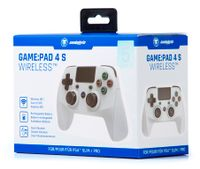 Snakebyte PS4 wireless Game Pad 4S in Grau
