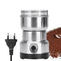 Multifunktions-Smash-Maschine Elektrisches Kaffeemühle Getreide Getreidemuehle Muehle Gewuerzkraeuter Pulverisierer Mahlmaschine Werkzeug Edelstahl Elektrische Kaffeebohnenmuehle fuer zu Hause