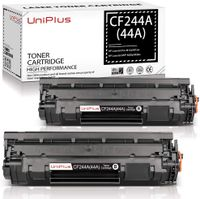 UniPlus Kompatibel Toner Ersatz für HP CF244A 44A Toner Patronen mit Chip für HP Laserjet Pro M15w HP Laserjet Pro M15a HP Laserjet Pro MFP M28w HP Laserjet MFP M28a Drucker (2 Schwarz, 1000 Seiten)