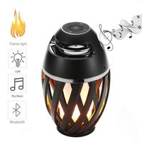 LED-Musiklampe Flame Night Light Tragbare drahtlose Bluetooth-Bar Outdoor-Reisen