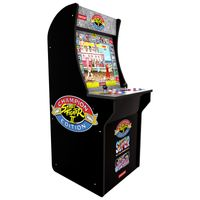 Arcade 1Up Automat Classic - Street Fighter Spielautomat Videospiel Spielkonsole 3 Spiele Videospielautomat
