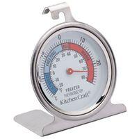 KITCHEN CRAFT KitchenCraft Stainless Steel Fridge Thermometer 7.55cm, Carded KCFRIDGETH