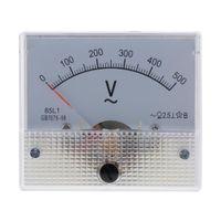 AC Rechteck Amperemeter Stromtester Analog Panel Voltmeter, Messbereich 0-150V 0-1000 V Farbe 0-500V