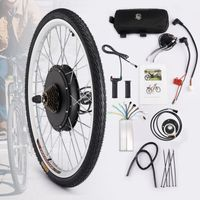 Crenex 26 Zoll Hinterrad 500W 36V Elektrofahrrad Umbausatz E-bike Kit
