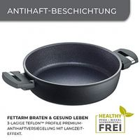 Berndes Balance Induction Enduro 24 cm serving pan 28 cm, aluminum, black