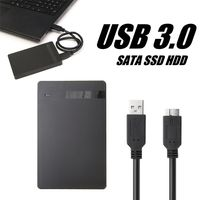 """2,5 """"SATA USB 3.0 1 TB externe Festplatten Portable Desktop Mobile Festplattenbox ( Festplattenbox nur)"""