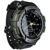 Koogeek MK28 Smart Watch 1,14 Zoll Bildschirm BT4.0 Leben wasserdicht Schrittzähler Kalorien Alarm Sport Männer Smartwatch für Android 6.0 / iOS 7.0 und höher (Grün)