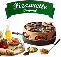 Pizzaofen Pizzarette Emerio PO-113255.4 Pizza-Raclette-Grill 3 in 1