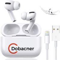 Für Apple AirPods Pro - Kopfhörer - im Ohr - Anrufe & Musik - Weiß - Binaural - Berührung Dobacner Für IPhone Samsung IOS Android