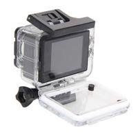 Action Kamera 1080p 720P HD Sportkamera DV-Camcorder mit 2 Zoll Bildschirm Unterwasserkamera Weitwinkelobjektiv