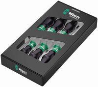 Wera 1334/6 Schraubendrehersatz Kraftform Comfort  05031551001
