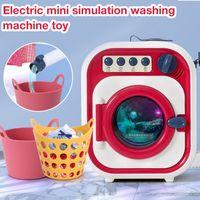 Mini Geräte Kinderwaschmaschine Spielzeug Simulation Automatische Reinigung Waschmaschine