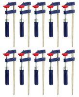 10x Schraubzwinge 200x50mm Klemmzwinge Leimzwinge Spannmittel 2149687