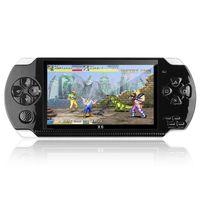 """X6 4,3 """" Portable 8 GB 128-Bit Eingebaute 10000+ Spiele Handheld PSP Spielekonsole Player Schwarz"""