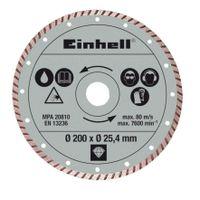 Einhell Radial-Fliesenschneidm-Zubehör Dia.-Trennsch. 200x25,4mm tur.