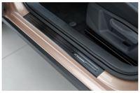Exclusive Design V2A Einstiegsleisten für VW Polo 6 2G ab Bj. 2017-, Farbe:Anthrazit