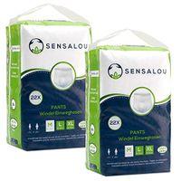 Sensalou Inkontinenzhosen Erwachsene Windeln für Männer Frauen Schutzhosen Pants - Größe M (44 Stück)