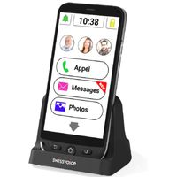 Swissvoice G50 schwarz, Senioren-Smartphone