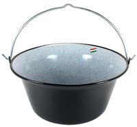 Grillplanet® Gulaschkessel Gulaschtopf 22 Liter emailliert