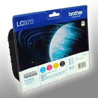 Brother LC-970VALBPDR Tinten Multipack schwarz, cyan, magenta, gelb