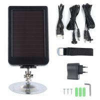 Solar Batterienlader Ladepanel Ladegerät für Jagd kamera Wildkamera Überwachungskamera
