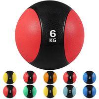 arteesol Medizinball 6kg Gymnastikball Gummi Slamball Gewichtsball Fitnessball Rehaball