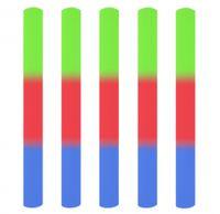 25 Stk. | LED Party Stick, Leuchtstab 30 cm - 3 Effekte, Glowstick, Partylicht