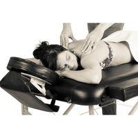 MOVIT® Mobile Massageliege, Massagebank, Weiß