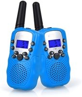 2X Walkie Talkies Set Kinder Funkgeräte 1-3KM Reichweite 8 Kanäle mit Taschenlampe Walki Talki Kinder SpielzeugMarke: Upgrow