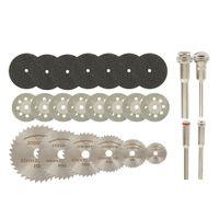32-teiliges Kreissägeblatt-Set HSS-Trennscheibe Für Holz, Kunststoff Und Aluminium