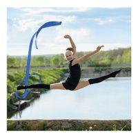 Gymnastikband Tanzband Wirbelband Rhythmikband Schwungband mit Stab Scheife