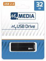 Verbatim MyMedia - 32 GB - USB Typ-A - 2.0 - Kappe - Schwarz