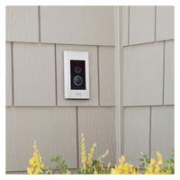 Ring Video Doorbell Elite, Farbe:Silber