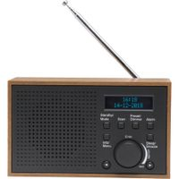 Denver Radio UKW DAB+ Digitalradio DENVER DAB 46 dark grey