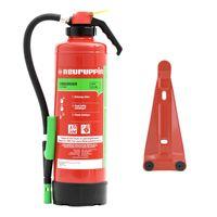 Neuruppin 6L Schaum Auflade-Feuerlöscher S6SKP eco Premium 10 LE inkl. Wandhalterung & ANDRIS® Prüfnachweis