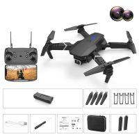 Schwarz 4K High-Definition-Luftbild-Drohnen-Flugzeug-Aufbewahrungstasche Mit Zwei Objektiven HD Kamera Drohne Altitude Hold Hover Headless